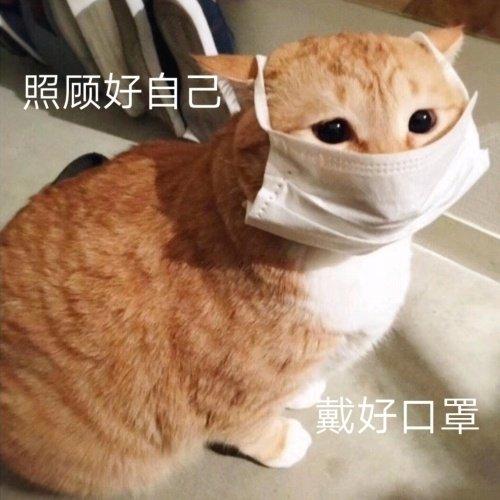 照顾好自己戴好口罩