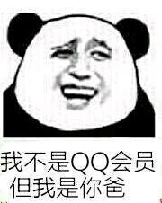 我不是QQ会员但我是你爸