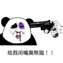 给我闭嘴臭熊猫