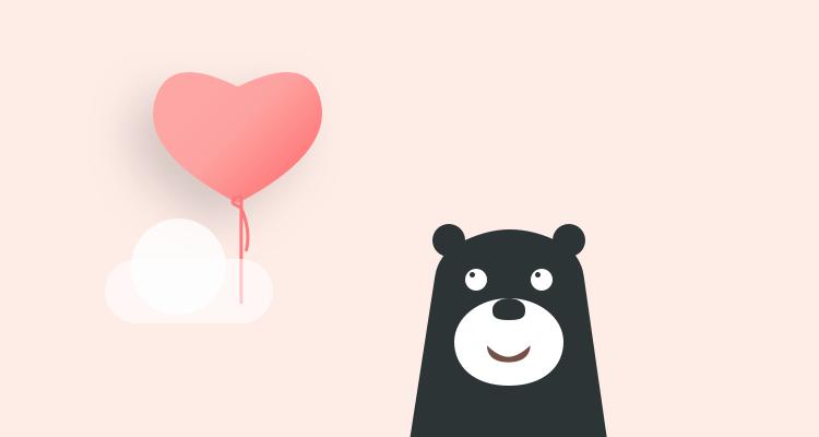 黑熊熊表情包