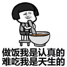 做饭我是认真的难吃我是天生的